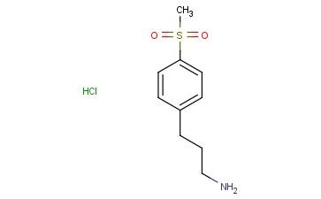 3-(4-Methylsulfonylphenyl)propan-1-amine HCl
