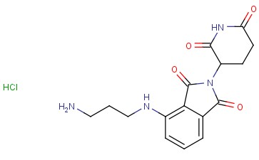 4-((3-Aminopropyl)amino)-2-(2,6-dioxopiperidin-3-yl)isoindoline-1,3-dione HCl