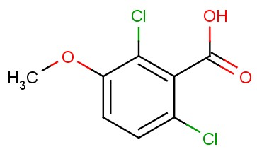 2,6-<span class='lighter'>DICHLORO-3-METHOXYBENZOIC</span> ACID