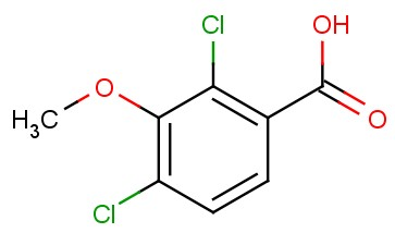 2,4-<span class='lighter'>DICHLORO-3-METHOXYBENZOIC</span> ACID