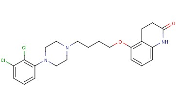 5-(4-(4-(2,3-dichlorophenyl)piperazin-1-yl)butoxy)-3,4-dihydroquinolin-2(1H)-one
