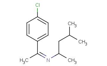 (Z)-N-(1-(4-CHLOROPHENYL)ETHYLIDENE)-4-METHYLPENTAN-2-AMINE