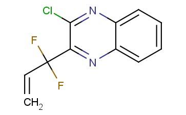 2-chloro-3-(1,1-difluoroallyl)quinoxaline
