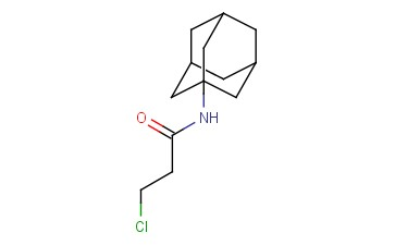 <span class='lighter'>PROPANAMIDE</span>, 3-CHLORO-N-TRICYCLO[3.3.1.13,7]DEC-1-<span class='lighter'>YL</span>-