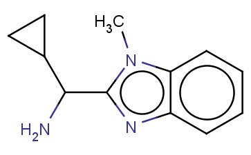C-CYCLOPROPYL-C-(1-METHYL-1H-BENZOIMIDAZOL-2-YL)-METHYLAMINE