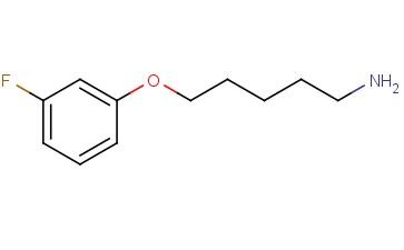 1-Pentanamine, 5-(3-fluorophenoxy)-