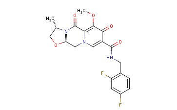 (3S,11aR)-N-(2,4-difluorobenzyl)-6-methoxy-3-methyl-5,7-dioxo-2,3,5,7,11,11a-hexahydrooxazolo[3,2-d]pyrido[1,2-a]pyrazine-8-carboxamide