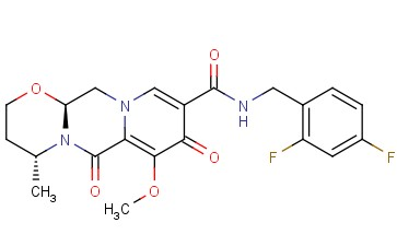 (4R,12aS)-N-(2,4-Difluorobenzyl)-7-methoxy-4-methyl-6,8-dioxo-3,4,6,8,12,12a-hexahydro-2H-[1,3]oxazino[3,2-d]pyrido[1,2-a]pyrazine-9-carboxamide