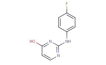 2-(4-FLUORO-PHENYLAMINO)-PYRIMIDIN-4-OL
