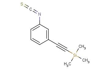 (2-(3-isothiocyanatophenyl)ethynyl)trimethylsilane
