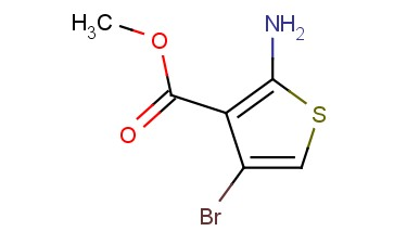 METHYL 2-<span class='lighter'>AMINO</span>-4-BROMOTHIOPHENE-3-CARBOXYLATE