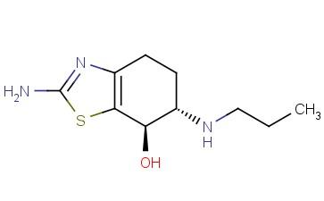 rel-(6S,7R)-2-Amino-4,5,6,7-tetrahydro-6-(propylamino)-7-benzothiazolol
