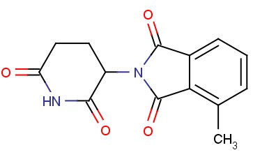 1H-Isoindole-1,3(2H)-dione, 2-(2,6-dioxo-3-piperidinyl)-4-methyl-