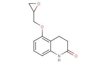 3,4-Dihydro-5-(2-oxiranylmethoxy)-2(1H)-quinolinone