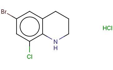 6-BROMO-8-CHLORO-1,2,3,4-TETRAHYDROQUINOLINE HYDROCHLORIDE