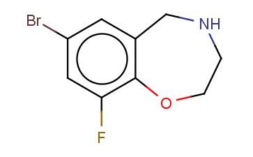 7-BROMO-9-FLUORO-2,3,4,5-TETRAHYDRO-1,4-BENZOXAZEPINE