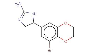 5-(8-BROMO-2,3-DIHYDRO-1,4-BENZODIOXIN-6-YL)-4,5-DIHYDRO-1H-IMIDAZOL-2-AMINE