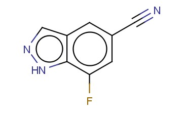 7-FLUORO-1H-INDAZOLE-5-CARBONITRILE