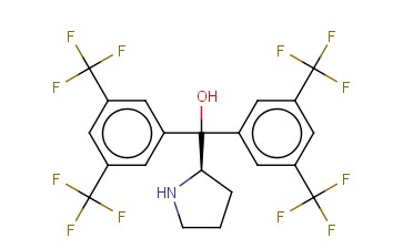 2-PYRROLIDINEMETHANOL, <span class='lighter'>ALPHA</span>,<span class='lighter'>ALPHA</span>-BIS[3,5-BIS(TRIFLUOROMETHYL)PHENYL]-, (2R)-