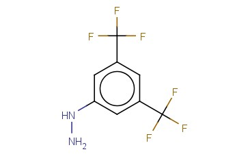 3,5-<span class='lighter'>BIS</span>(TRIFLUOROMETHYL)<span class='lighter'>PHENYLHYDRAZINE</span>