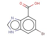 6-Bromo-1H-benzo[d]<span class='lighter'>imidazole</span>-4-carboxylic acid