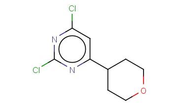 2,4-DICHLORO-6-(4-TETRAHYDROPYRANYL)PYRIMIDINE