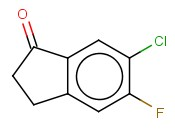 6-<span class='lighter'>Chloro-5-fluoro</span>-2,3-dihydro-1H-inden-1-one