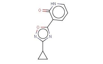 3-(3-CYCLOPROPYL-[1,2,4]OXADIAZOL-5-YL)-1H-PYRIDIN-2-ONE