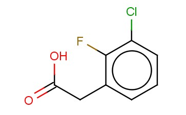 3-CHLORO-2-FLUOROPHENYLACETIC ACID