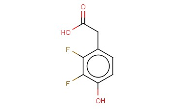 2,3-DIFLUORO-4-HYDROXY-BENZOACETIC ACID