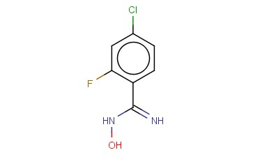 <span class='lighter'>4-CHLORO-2-FLUORO-N-HYDROXYBENZENE-1-CARBOXIMIDAMIDE</span>