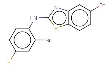 5-BROMO-N-(2-BROMO-4-FLUOROPHENYL)-1,3-BENZOTHIAZOL-2-AMINE