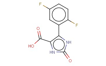 1,3-DIHYDRO-IMIDAZOL-2-ONE-5-(2,5-DIFLUORO)PHENYL-4-CARBOXYLIC ACID