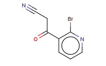 2-BROMO-BETA-OXO-3-PYRIDINEPROPANENITRILE