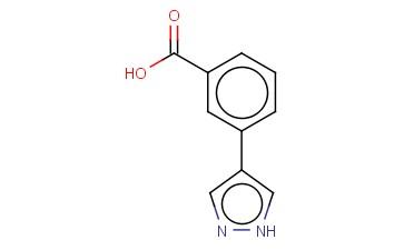 3-(1H-PYRAZOL-4-YL)BENZOIC ACID