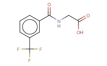 2-(3-(TRIFLUOROMETHYL)BENZAMIDO)ACETIC ACID