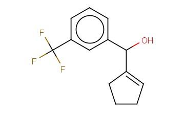 CYCLOPENT-1-EN-1-YL[3-(TRIFLUOROMETHYL)PHENYL]METHANOL