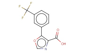 5-[3-(TRIFLUOROMETHYL)PHENYL]-1,3-OXAZOLE-4-CARBOXYLIC ACID