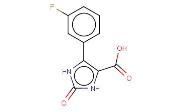 1,3-DIHYDRO-IMIDAZOL-2-ONE-5-(3-FLUORO)PHENYL-4-CARBOXYLIC ACID