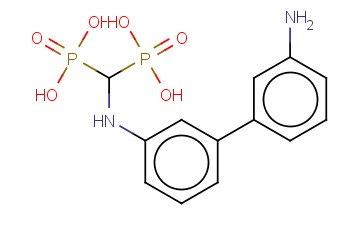 [(3'-AMINO-BIPHENYL-3-YLAMINO)-PHOSPHONO-METHYL]-PHOSPHONIC ACID