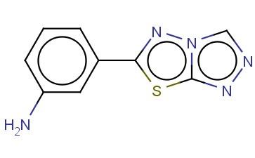 3-[1,2,4]TRIAZOLO[3,4-B][1,3,4]THIADIAZOL-6-YL-PHENYLAMINE