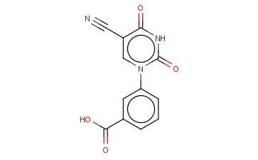 3-(5-CYANO-2,4-DIOXO-3,4-DIHYDRO-2H-PYRIMIDIN-1-YL)-BENZOIC ACID