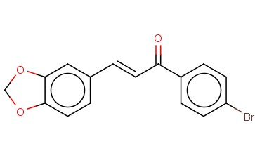 3-(1,3-BENZODIOXOL-5-YL)-1-(4-BROMOPHENYL)PROP-2-EN-1-ONE