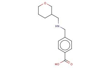 4-([(OXAN-3-YLMETHYL)AMINO]METHYL)BENZOIC ACID
