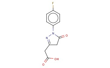 2-(1-(4-FLUOROPHENYL)-5-OXO-4,5-DIHYDRO-1H-PYRAZOL-3-YL)ACETIC ACID