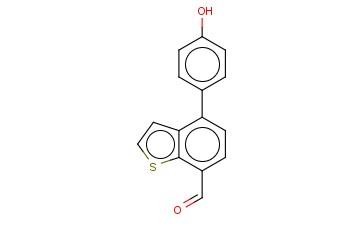 4-(4-HYDROXYPHENYL)-BENZO[B]THIOPHENE-7-CARBOXALDEHYDE