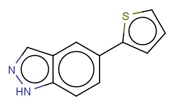 5-THIOPHEN-2-YL-1H-INDAZOLE