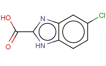1H-<span class='lighter'>BENZIMIDAZOLE-2-CARBOXYLIC</span> ACID, 5-CHLORO-
