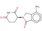 (3S)-3-(4-AMINO-1-OXO-1,3-DIHYDRO-2H-ISOINDOL-2-<span class='lighter'>YL</span>)<span class='lighter'>PIPERIDINE</span>-2,6-DIONE