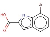 7-<span class='lighter'>Bromo-1H-indole-2-carboxylic</span> acid